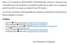 Microsoft Word - COMMUNIQUE 202104- OUVERTURE SUR RDV BAT (v3